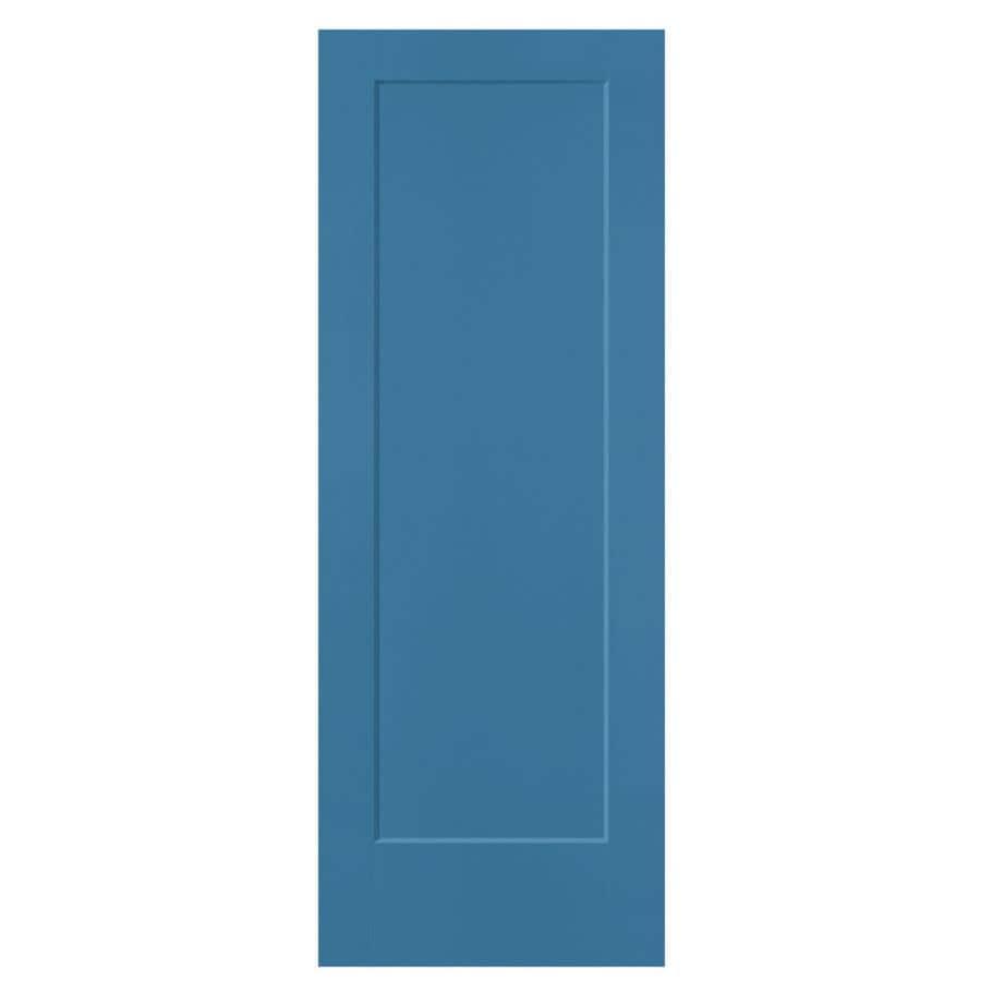Masonite Lincoln Park Blue Heron Hollow Core Molded Composite Slab Interior Door (Common: 30-in x 80-in; Actual: 30-in x 80-in)