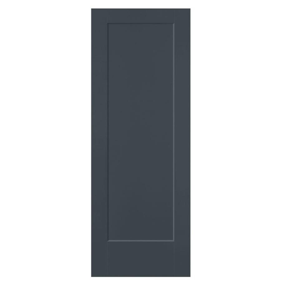 Masonite Lincoln Park Slate Hollow Core Molded Composite Slab Interior Door (Common: 28-in x 80-in; Actual: 28-in x 80-in)