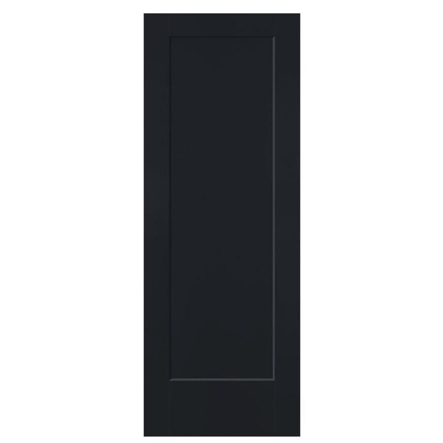 Masonite Lincoln Park Midnight Hollow Core Molded Composite Slab Interior Door (Common: 24-in x 80-in; Actual: 24-in x 80-in)