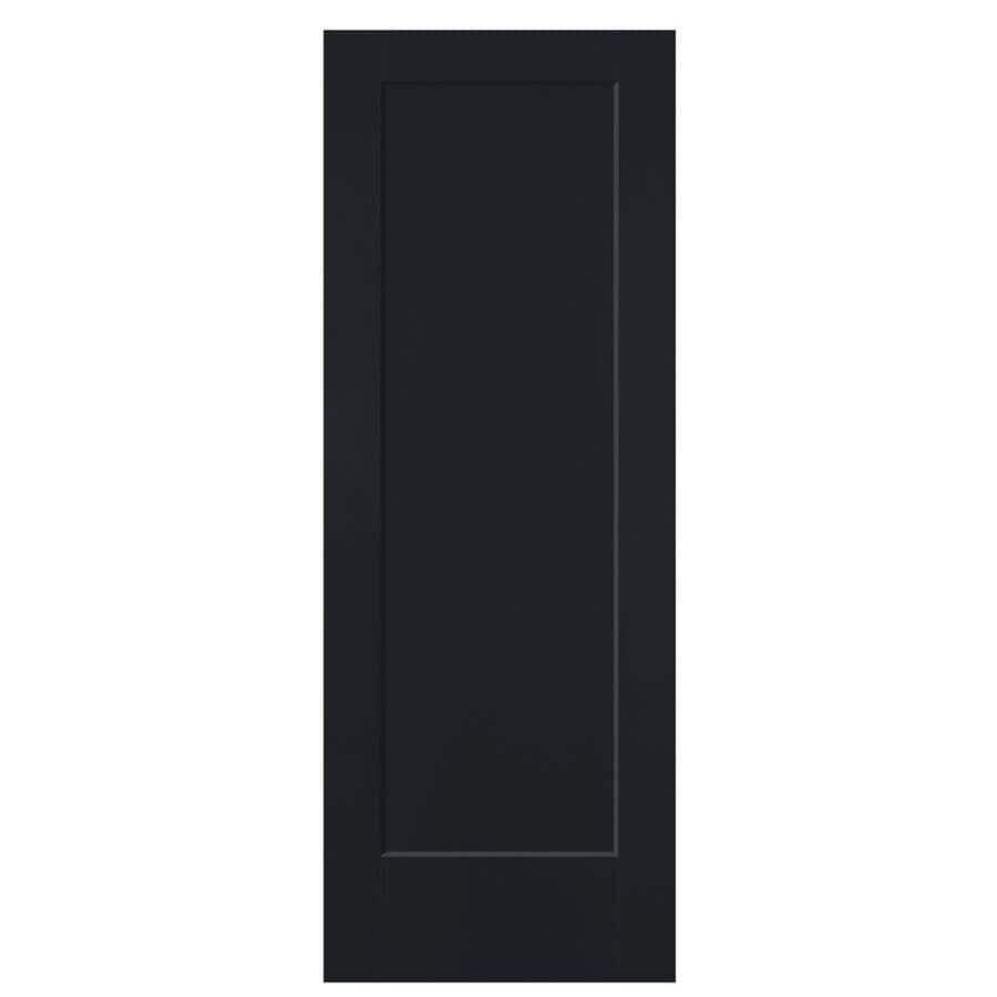 Masonite Lincoln Park Midnight Hollow Core Molded Composite Slab Interior Door (Common: 36-in x 80-in; Actual: 36-in x 80-in)