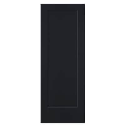 Slab Doors Midnight 1 Panel Hollow Core
