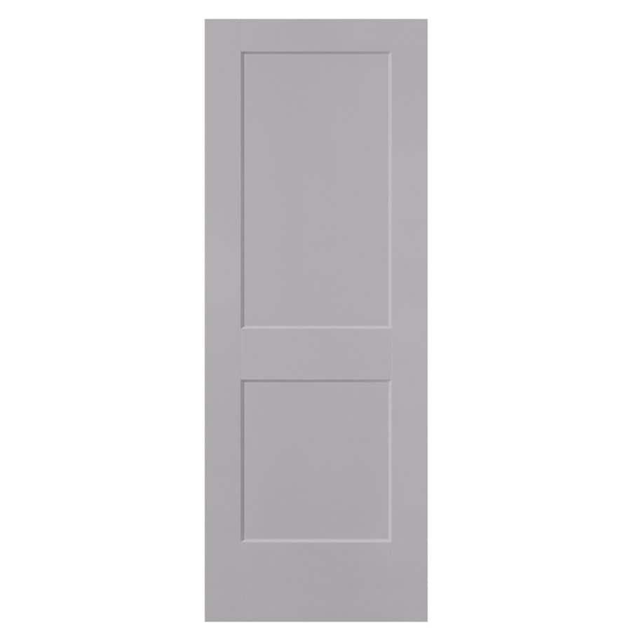 Masonite Logan Drift Hollow Core Molded Composite Slab Interior Door (Common: 24-in x 80-in; Actual: 24-in x 80-in)