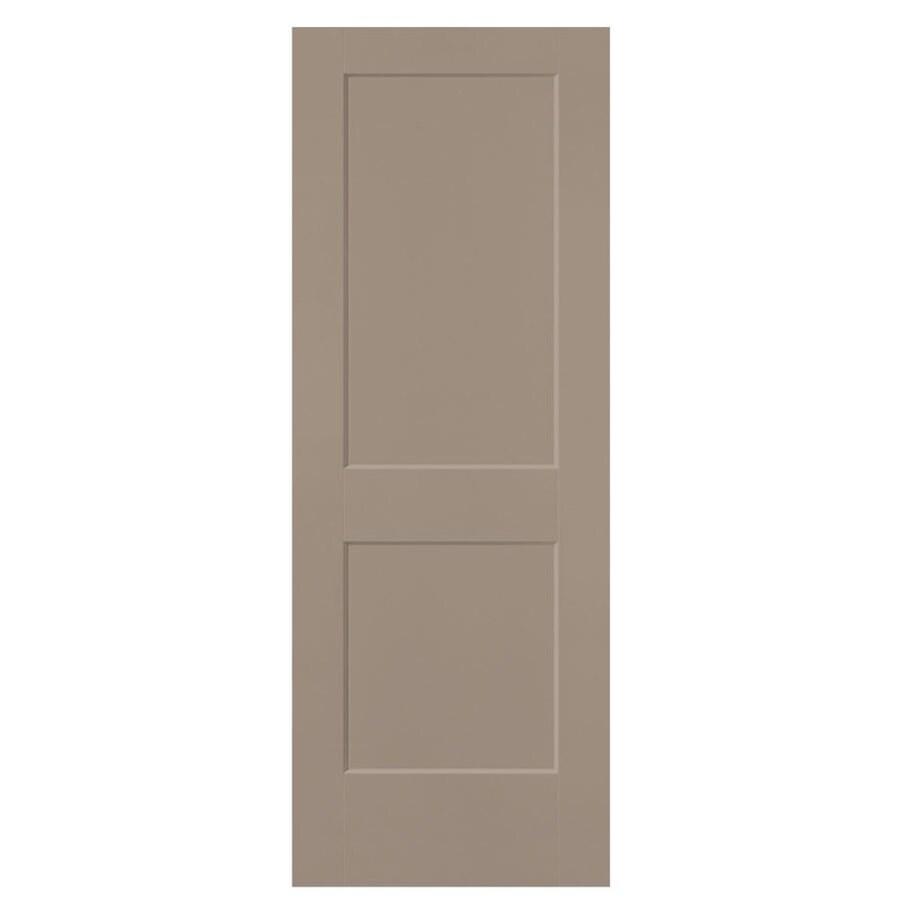 Masonite Heritage Sand Piper Hollow Core Molded Composite Slab Interior Door (Common: 32-in X 80-in; Actual: 32-in x 80-in)