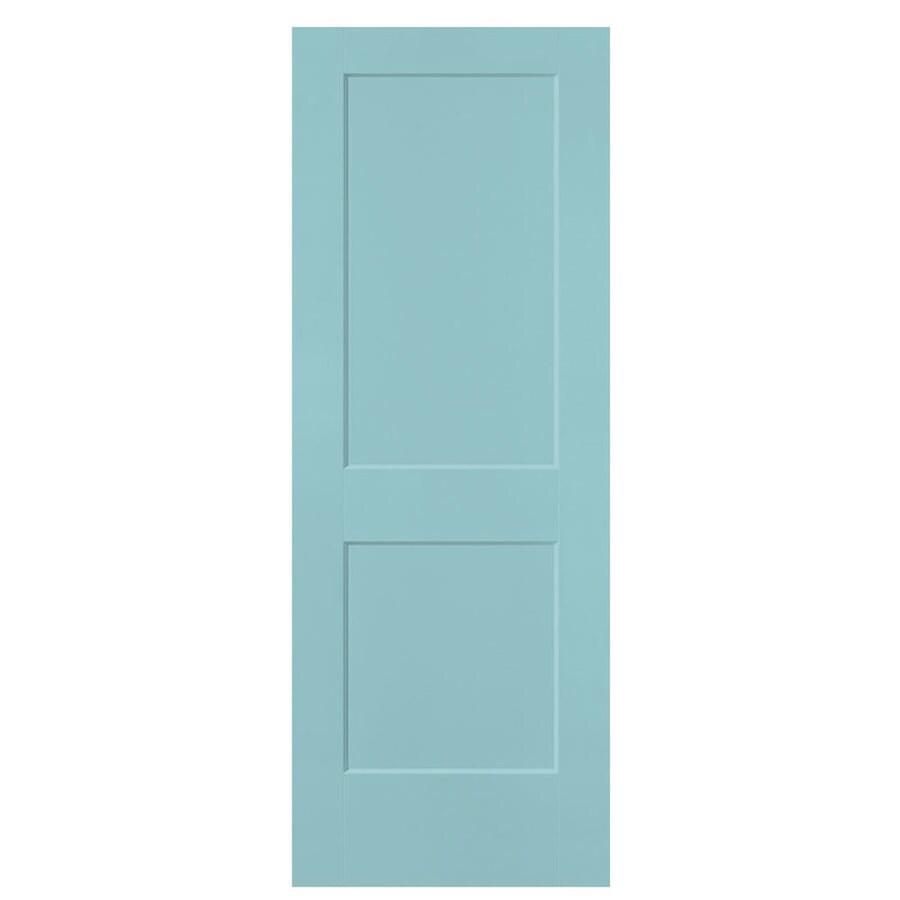 Masonite Heritage Sea Mist Hollow Core Molded Composite Slab Interior Door (Common: 24-in X 80-in; Actual: 24-in x 80-in)