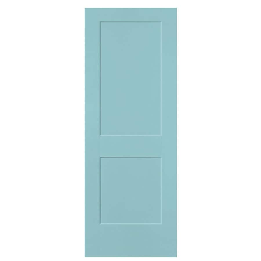 Masonite Heritage Sea Mist Hollow Core Molded Composite Slab Interior Door (Common: 32-in X 80-in; Actual: 32-in x 80-in)