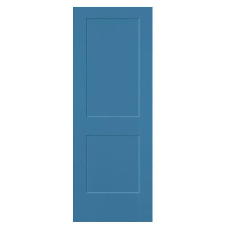 Masonite Heritage Blue Heron Hollow Core Molded Composite Slab Interior Door (Common: 28-in X 80-in; Actual: 28-in x 80-in)