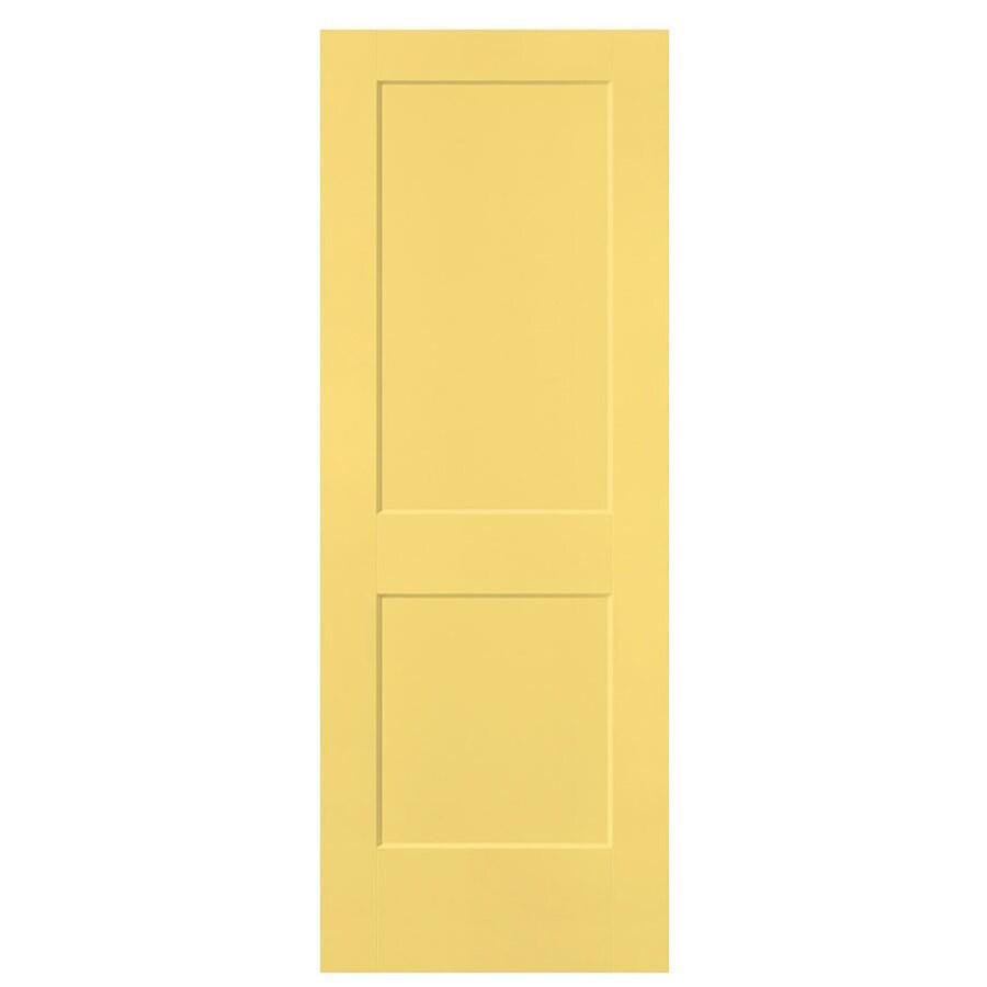Masonite Heritage Marigold Hollow Core Molded Composite Slab Interior Door (Common: 32-in X 80-in; Actual: 32-in x 80-in)