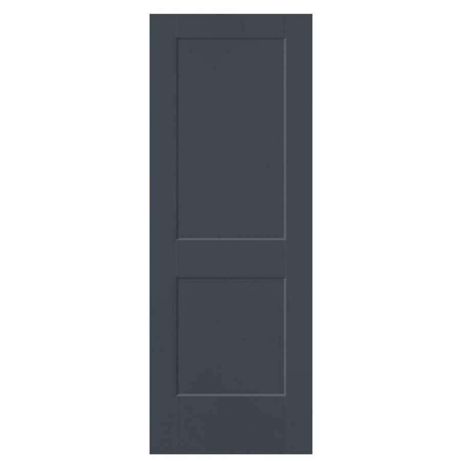 Masonite Heritage Slate Hollow Core Molded Composite Slab Interior Door (Common: 28-in X 80-in; Actual: 28-in x 80-in)