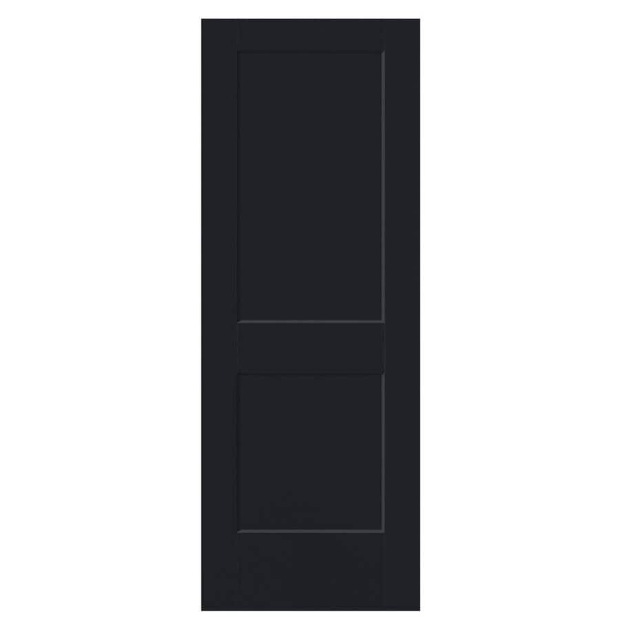 Masonite Heritage Midnight Hollow Core Molded Composite Slab Interior Door (Common: 30-in X 80-in; Actual: 30-in x 80-in)