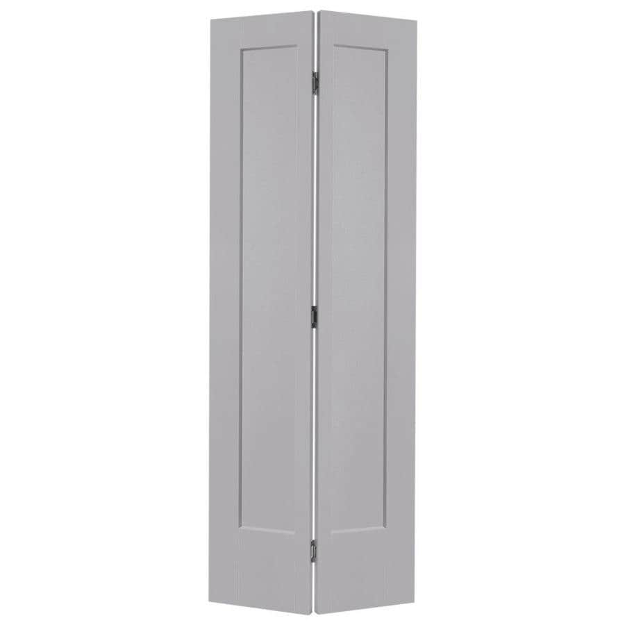 Masonite bifold and closet doors driftwood 1 panel square - 30 x 80 exterior door with pet door ...