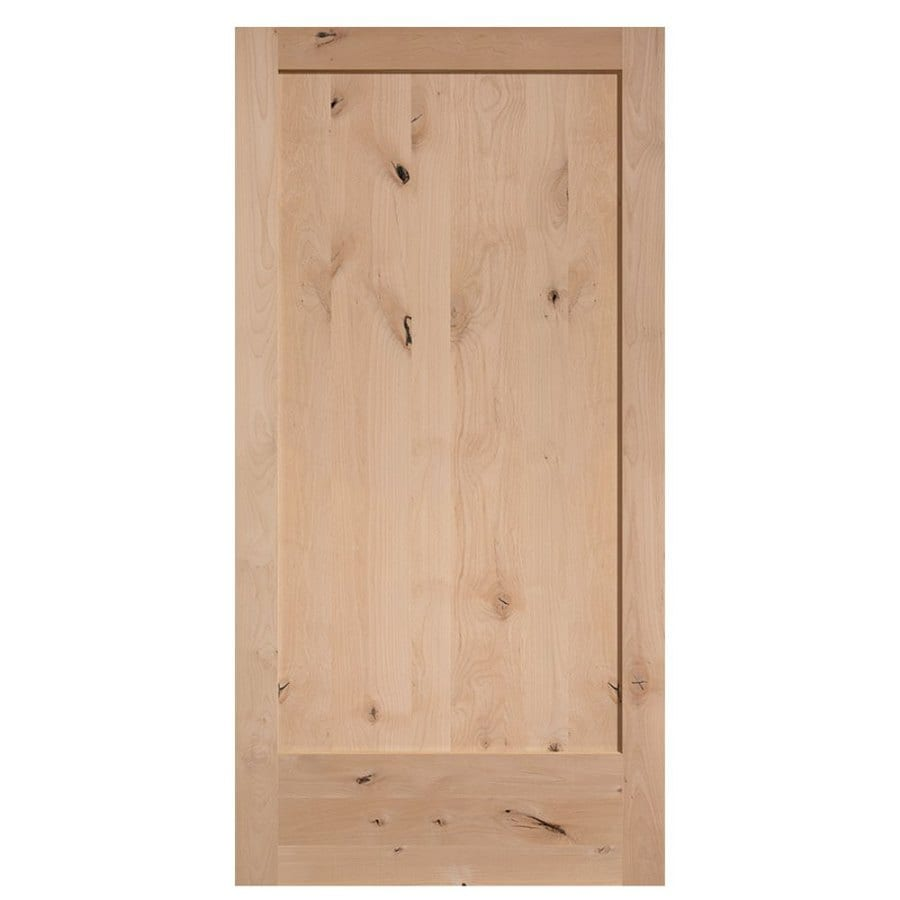 Shop Masonite Unfinished 1 Panel Square Solid Core Wood