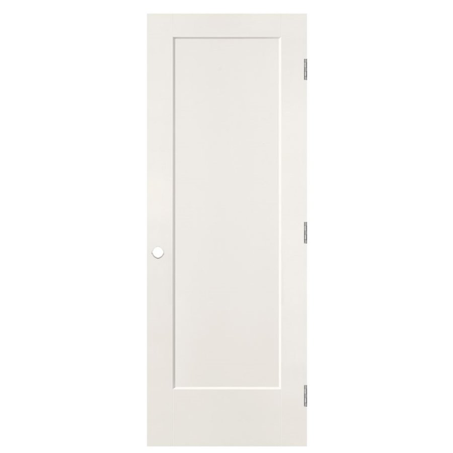Masonite Heritage Primed Solid Core Molded Composite Single Prehung Interior Door (Common: 28-in x 80-in; Actual: 29.5-in x 81.5-in)
