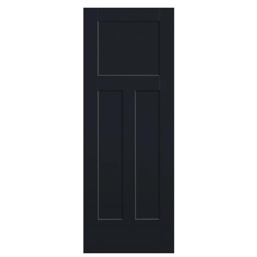 Masonite Slab Doors Midnight 3 Panel Craftsman Solid Core