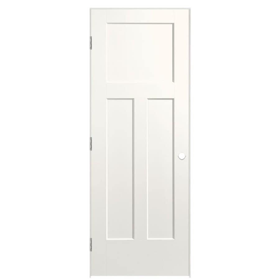 Masonite Heritage White Single Prehung Interior Door