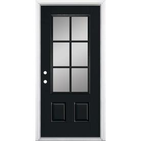 3 4 Lite Entry Doors At Lowes Com
