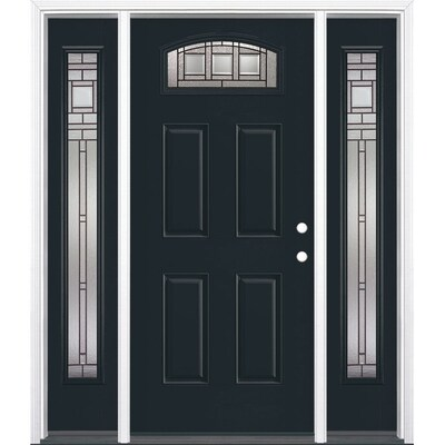 Fiberglass Blue Front Doors At Lowes Com Today, i want to tell you more about the wonderful phantom screens (a retractable screen door) i added to my exterior doors. fiberglass blue front doors at lowes com