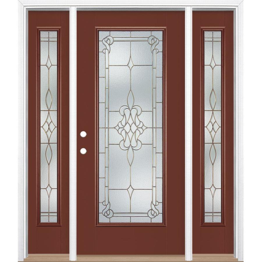 Masonite Stately Full Lite Decorative Glass Right-Hand