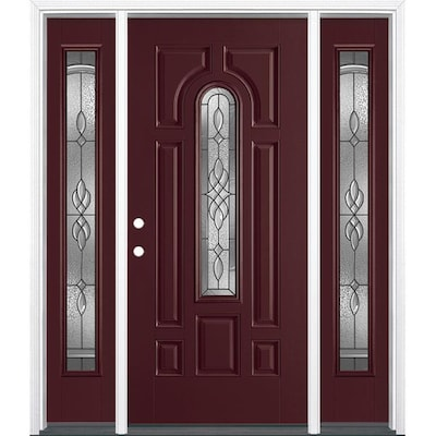 Masonite Fiberglass Front Doors At Lowes Com Once you pick the doors you like, our installers will manage your project from beginning to end. masonite fiberglass front doors at