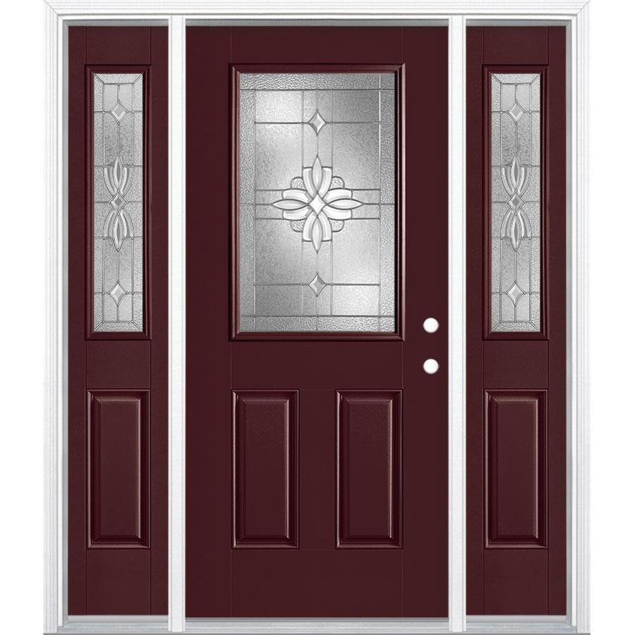Masonite Laurel Half Lite Decorative Glass Left-Hand