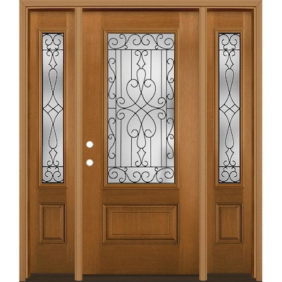 Single Door With Sidelights Front Doors At Lowes Com These next two doors are really nice, too. single door with sidelights front doors
