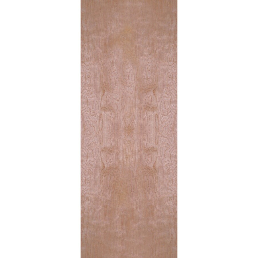 Masonite Classics Flush Slab Interior Door (Common: 30-in x 80-in; Actual: 30-in x 80-in)