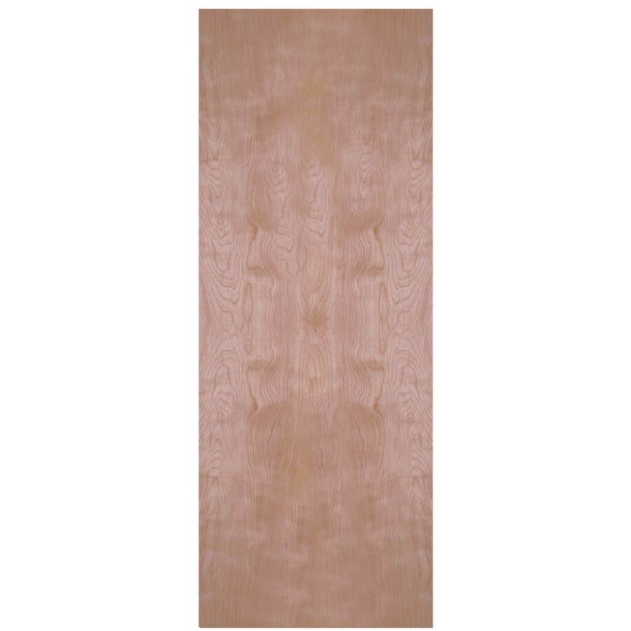 Masonite Classics  Flush Birch Slab Interior Door (Common: 28-in X 80-in; Actual: 28-in x 80-in)