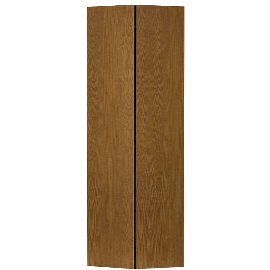 Shop Masonite Classics Flush Oak Bi-fold Closet Interior Door ...