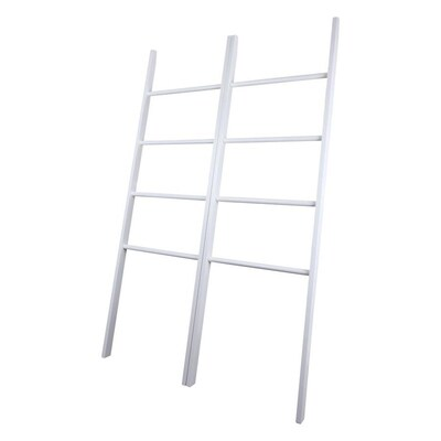 Casual Home Decorative Twin Ladders White At Lowes Com