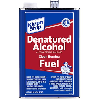 Klean-Strip Gallon SLX Denatured Alcohol at Lowes com