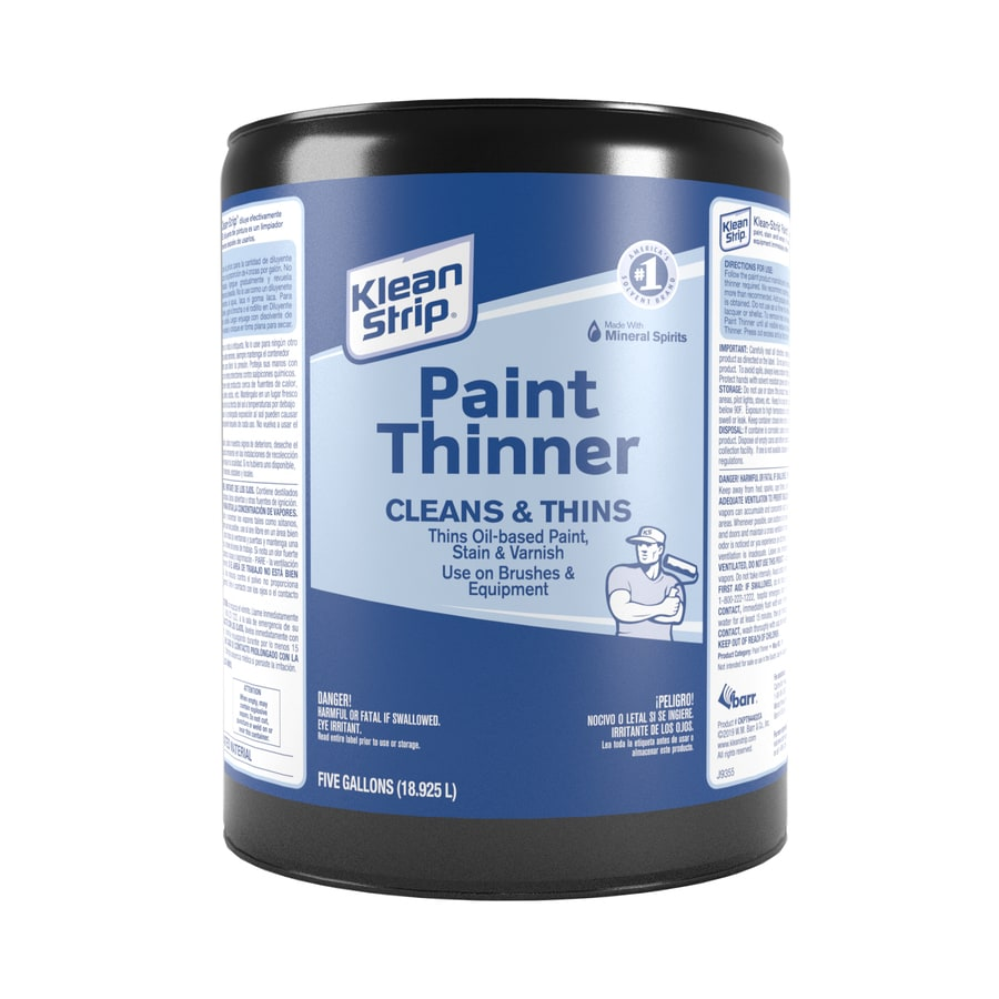 Shop Klean Strip 5 Gallon Paint Thinner At
