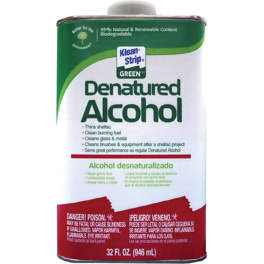 Klean-Strip Quart Denatured Alcohol