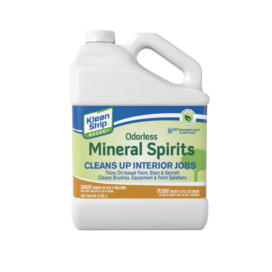Klean-Strip Gallon Size Can Slow to Dissolve Odorless Mineral Spirits (Actual Net Contents: 128-fl oz)