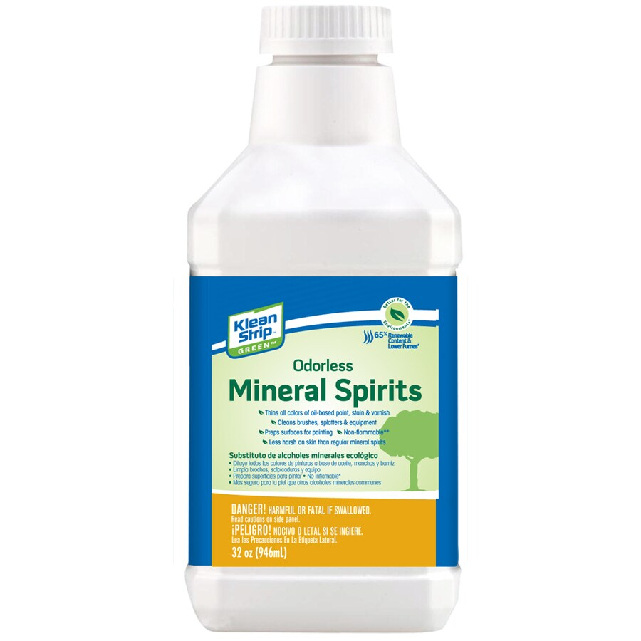 Klean-Strip Quart Size Can Slow to Dissolve Odorless Mineral Spirits (Actual Net Contents: 32-fl oz)