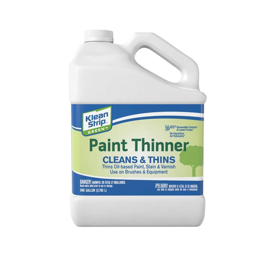 Klean-Strip Gallon Size Can Slow to Dissolve Paint Thinner (Actual Net Contents: 128-fl oz)