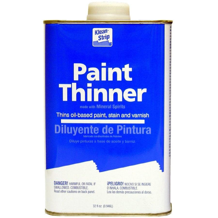 Shop Klean-Strip Quart Quart Paint Thinner at Lowes.com