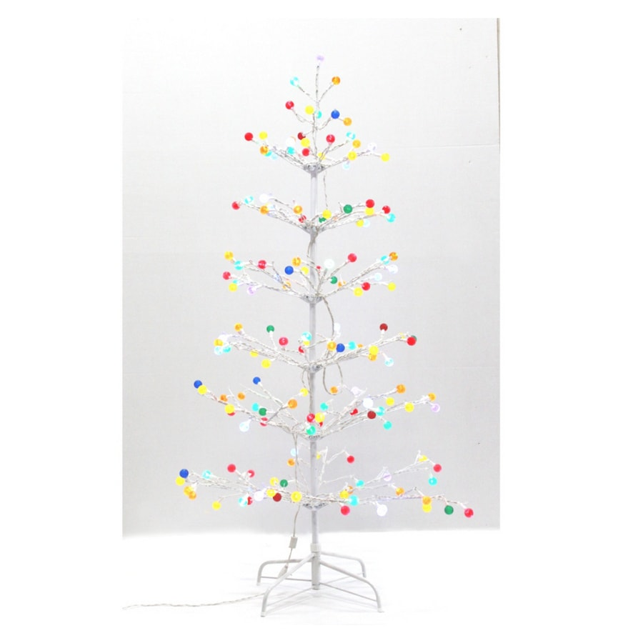 holiday living 5 gumdrop artificial tree with multicolor led lights