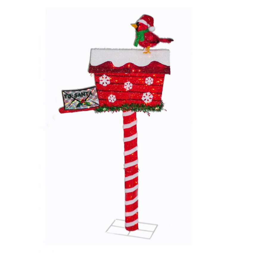 Shop holiday living 52 animated mailbox outdoor holiday for Home hardware outdoor christmas decorations