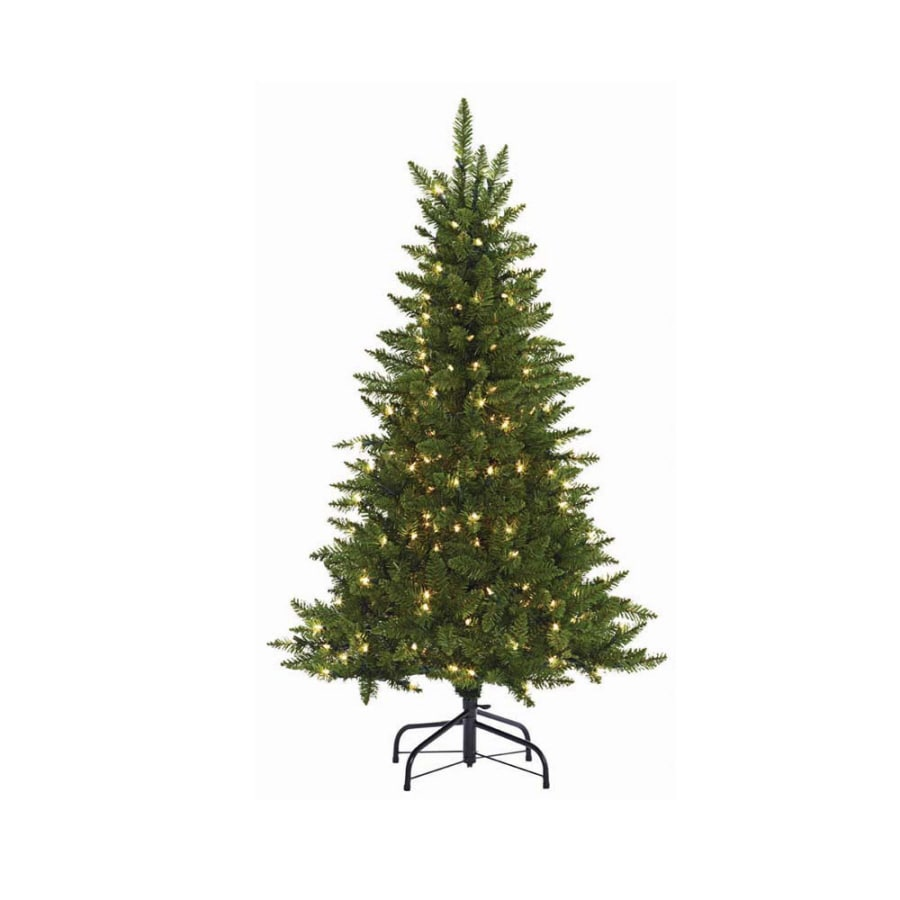 outdoor christmas trees shop living 4 1 2 ft indoor outdoor bristen pine 11246