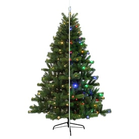 holiday living 65 ft pre lit seneca pine artificial christmas tree with 250 multi - Decorated Artificial Christmas Trees