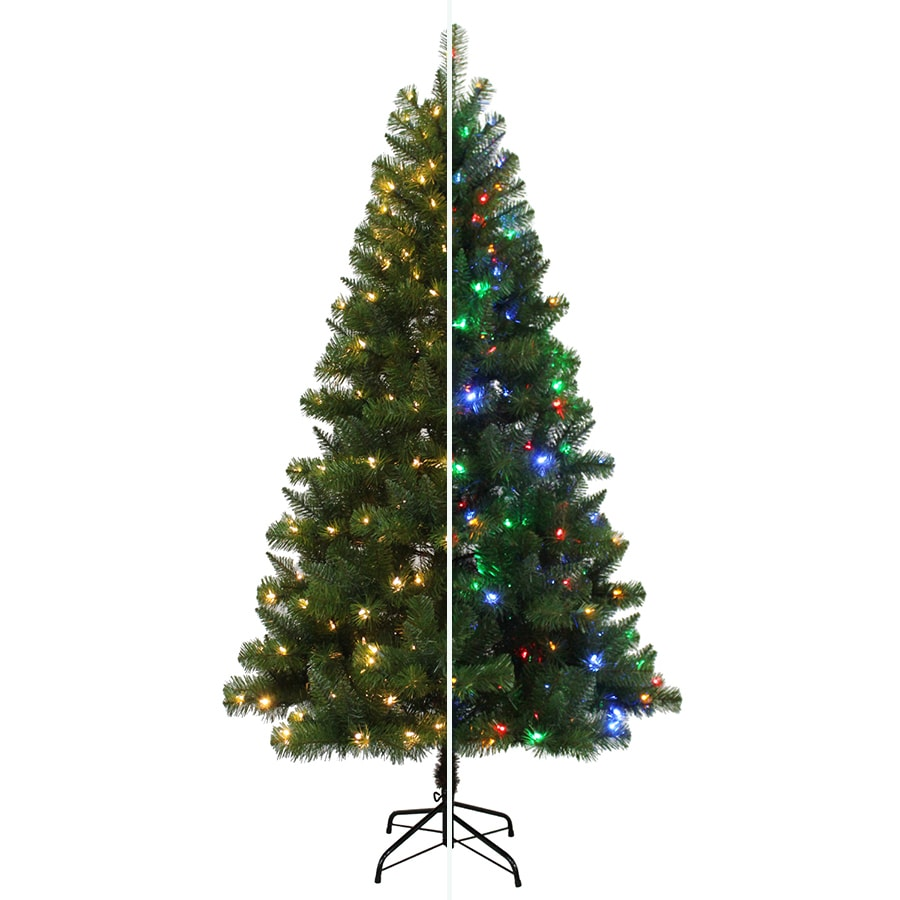 Shop Holiday Living 6.5-ft 650-Count Pre-lit Alpine