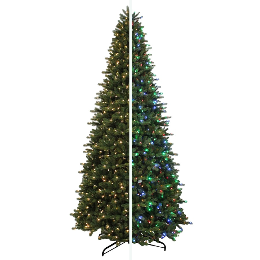 Holiday Living 12 Ft 4841 Count Pre Lit Balsam Fir Artificial Christmas Tree