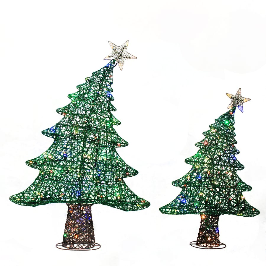 Holiday Living Pre-Lit Tree Tree Twinkling LED Lights