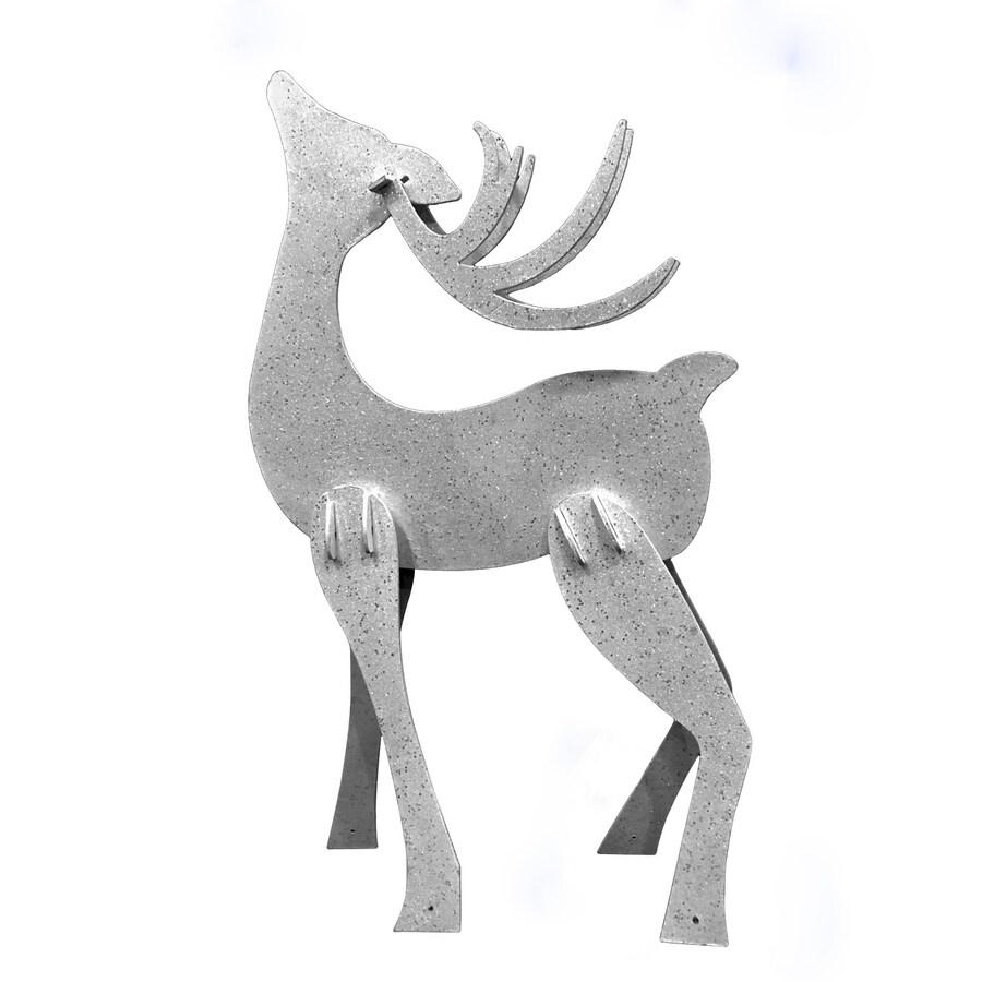 Holiday Living 3.83-ft Freestanding Reindeer