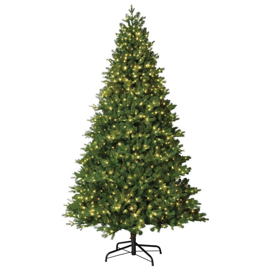 holiday living 75 ft pre lit crystal artificial christmas tree with 1200 constant warm