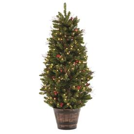 holiday living 45 ft pre lit nevada slim artificial christmas tree with 200 constant - 7ft Slim Christmas Tree