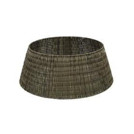 holiday living 27 in brown plastic weave christmas tree skirt - Lowes Christmas Tree Stand