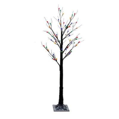 on sale 718e5 01e87 5-ft Pre-lit Twig Slim Artificial Christmas Tree with 64 ...