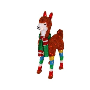 Llama Christmas Decorations.Holiday Living 36 In 70l Llama At Lowes Com