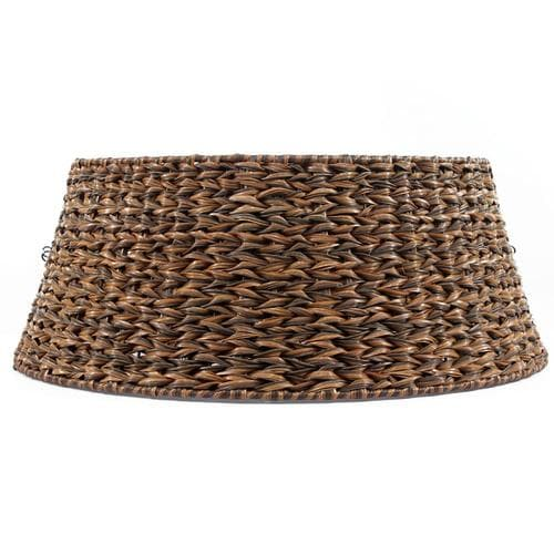 Lowes Christmas Tree Skirts: Holiday Living Woven Basket Tree Collar At Lowes.com
