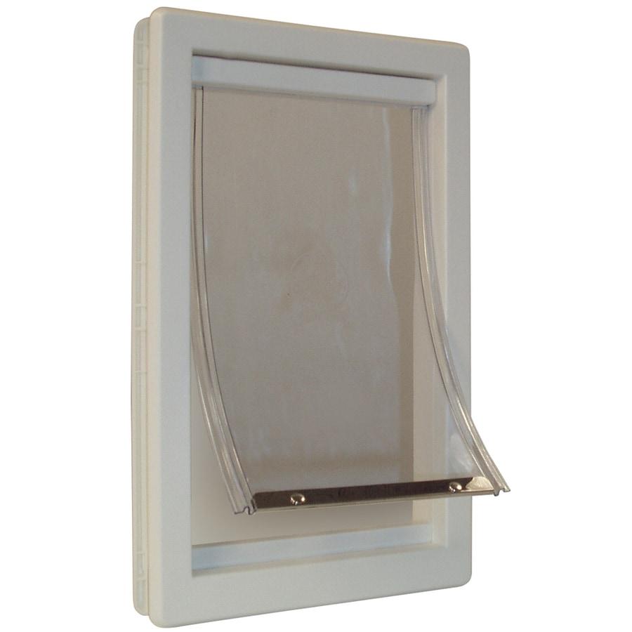 Ideal Pet Products X-Large Cream Plastic Pet Door (Actual: 20-in x 15-in)